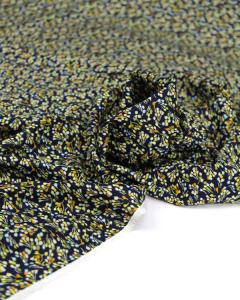Viscose Challis Fabric - Little Lotte Navy