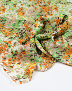 Viscose Challis Lawn Fabric - Mia's Meadow