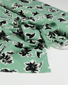Viscose Challis Lawn Fabric - Tahiti Willow