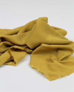 Viscose Challis Lawn Fabric - Mustard