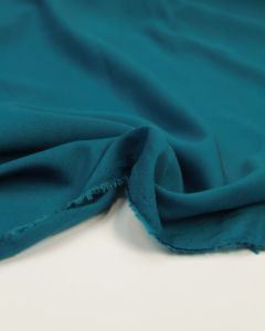 Viscose Challis Lawn Fabric - Teal