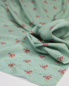 Viscose Lurex Dobby Fabric - Nellie Aqua