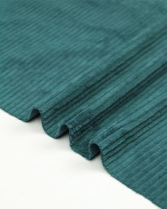 Washed Jumbo Corduroy Fabric - Saltwater
