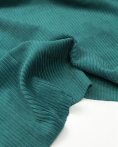 Washed Jumbo Corduroy Fabric - Teal