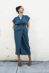 Sew House Seven - Paper Sewing Pattern - Wildwood Wrap Dress