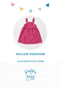 Poppy & Jazz - Paper Sewing Pattern - Willow Pinafore