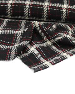 Wool Coating Fabric - Bexley Plaid