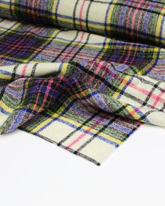 Wool Coating Fabric - Camden Plaid