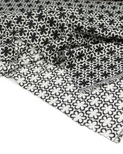 Wool Jacquard Fabric - Delilah Daisy