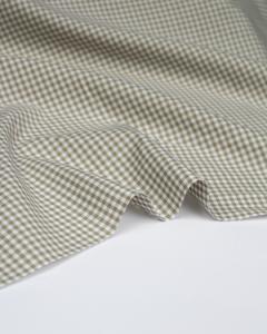 Yarn Dyed Cotton Fabric - 3mm Gingham Barley