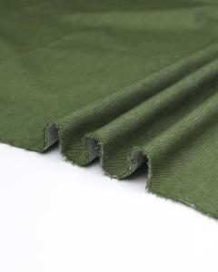 Yarn Dyed Stretch Denim Fabric - Olive