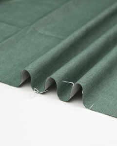 Yarn Dyed Stretch Denim Fabric - Sage