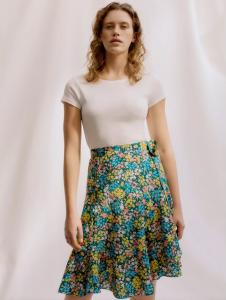 Liberty - Paper Sewing Pattern - Zina Wrap Skirt